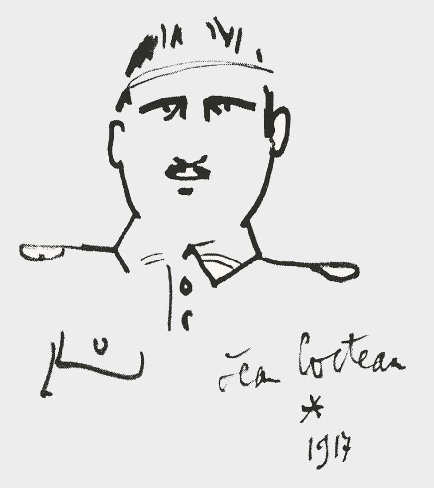 Apollinaire par Jean Cocteau