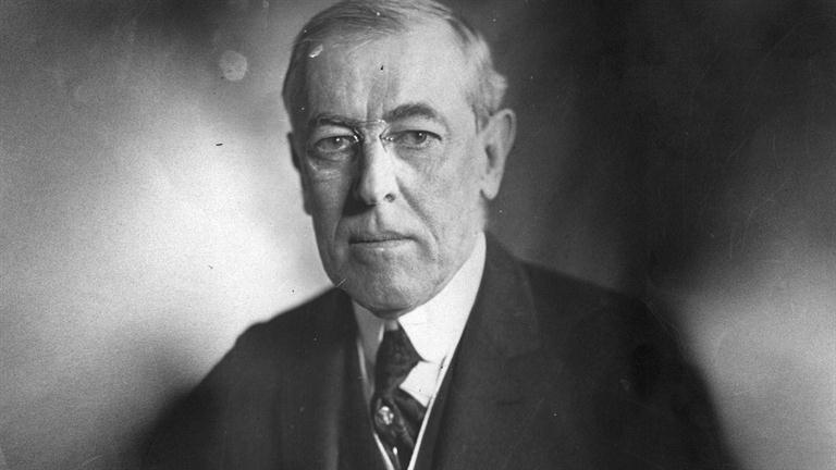 Woodrow WILSON (1856-1924).